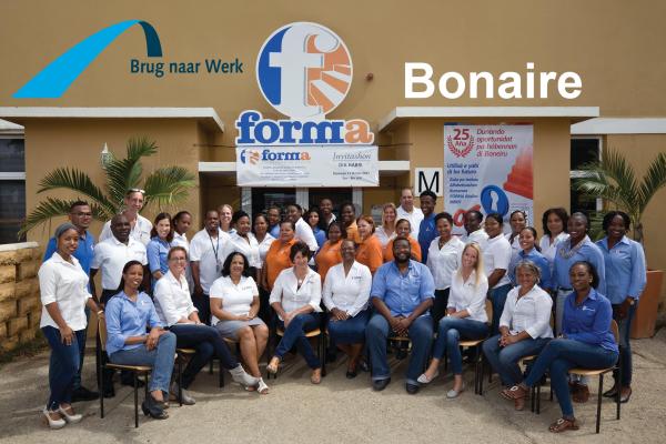 De methode Brug naar Werk ook naar Bonaire!