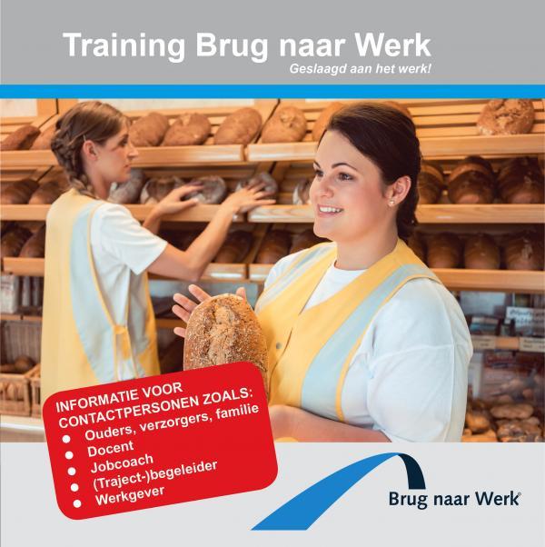 Nieuwe folder Brug naar Werk (ouders, verzorgers, begeleiders en werkgevers)
